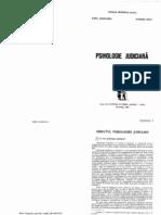 Psihologie Judiciara 1992 - Nicolae Mitrofan