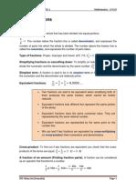 Unit 2. _Act 1_ Fractions-2ºESO