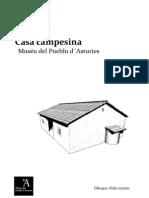 Casa campesina. Muséu del Pueblu d'Asturies