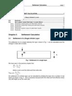 SoilMech Ch5 Settlement Calculation
