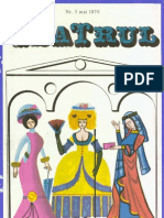 Revista Teatrul, nr. 5, anul XV, mai 1970