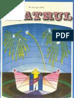 Revista Teatrul, nr. 8, anul XV, august 1970