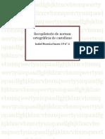 Recopilatorio de normas ortográficas