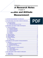 Scales and Attitude Measurement