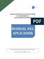 Manual Aplicador