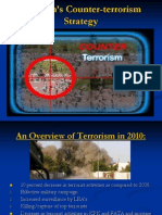Pakistan's Counter-terrorism Strategy