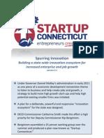 Innovation Ecosystem - Startup Connecticut - 10-13-2011 - Version 3 2