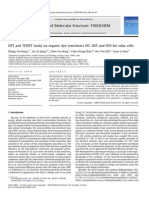DFT and TDDFT Study on Organic Dye Sensitizers D5, DST and DSS for Solar Cells