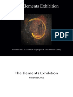 The Elements Art Exhibition Event Catalog