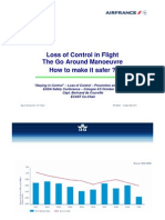 Loss of Control in Flight - The Go Around Manoeuvre - How to make it safer? By Bertrand de Courville