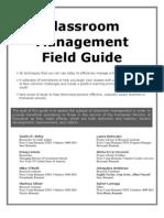Classroom Management Field Guide