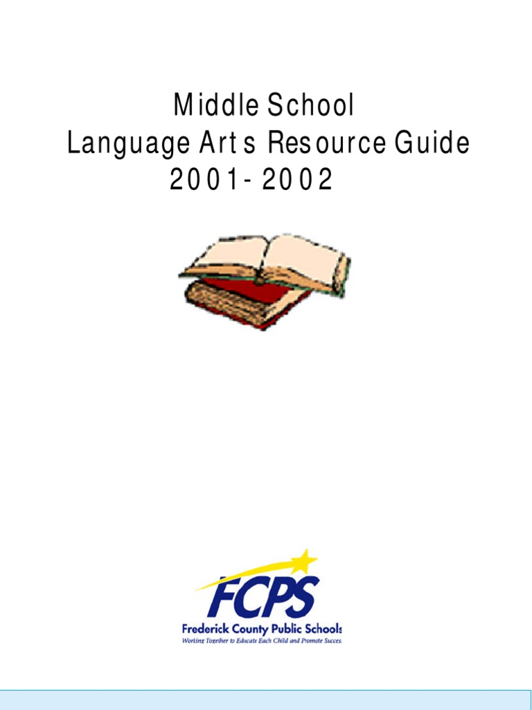 Language arts resource guide learning teachers fandeluxe Choice Image
