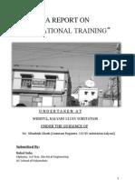 Training Report in a 132 k.v Substation