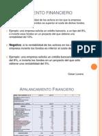 Apalancamiento Financiero Positivo y Negativo