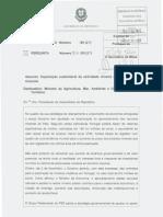 Pergunta nº 1117-XII-1ª - Exploração sustentável da actividade mineira e dos recursos minerais