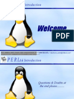 PERL an Introduction