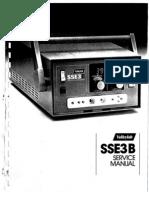 Electrobisturi Valleylab SSE3B Manual de Servicio
