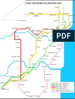 CMRL Chennai Metro Rail Route