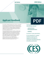 CGFNS CES Application Form
