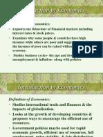 Economics Intro