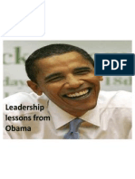 Leadership Lessons From Obama (1)