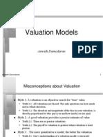 50850909 Valuation Models