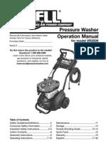 VR2500 Pressure Washer