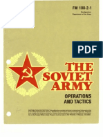 Fm100!2!1 Soviet Operations and Tactics