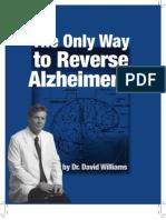 Reverse Alzheimers