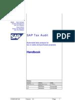 SAP TaxAudit Handbook