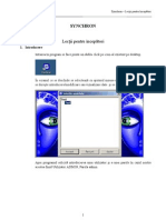 20110510 Synchron Lectii Pentru Incepatori