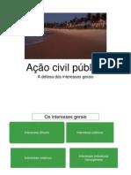 04. Ação Civil Pública