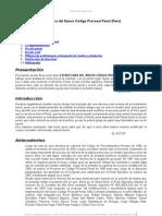 Estructura Nuevo Codigo Procesal Penal