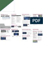 AVIC-HD3II Quick Start Manual en(2)