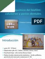 Control Quimico de Placa Bacteriana PDF Para Evd