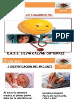 10 Acciones de Seguridad Del Paciente