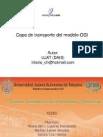 Capa Transporte Modelo Osi