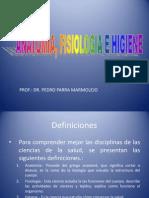 Definiciones y Planimetria Ciencias de La Salud