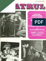 Revista Teatrul, nr. 4, anul XVIII, aprilie 1973