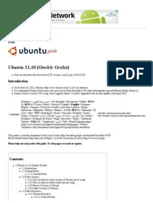 Ubuntu Oneric Terminal Komande | Secure Shell | Booting