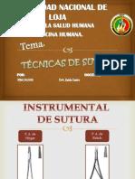 técnicas de sutura