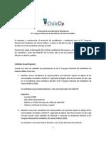 Protocolo de acreditación y membresía - IV° Congreso Nacional de Estudiantes de Ciencia Política