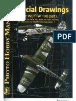 Focke-Wulf FW 190 Photo Hobby Manual - Special Drawings Part 1