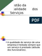 Gestão Da Qualidade Dos Serviços Sara
