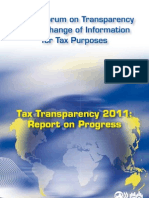 Tax Transparency 2011
