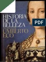 Historia Belleza Introducción