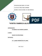 INFORME DE ALICORP