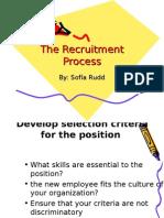 Copy of BUSINESS the Recruitment Process SRUDD