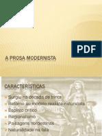 A Prosa Modernist A