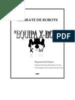 Combate de Robots-equipe X-bot